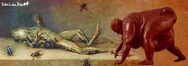 Con Nhái của Lã Phụng Tiên sinh bất phùng thời